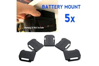5Pcs 18V Mounts Holder Storage For Bosch BAT622 For MAK BL1860B