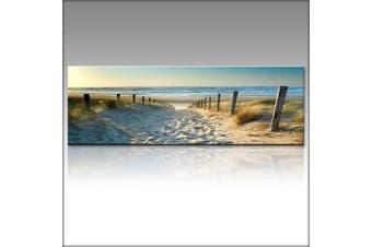 Home Decor Canvas Print Wall Art Ocean Beach Nature landscape picture no frame #30*90cm(30x90cm)
