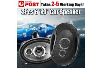 Universel 2X 1000W 3 Voies Coaxiaux Voiture Haut-parleurs 6X9 Stereo Subwoofer