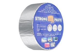 Aluminum Foil Adhesive Tape Stop Leak Heat Resistant Pipe Repair Crack Tape(5cm by 10m)