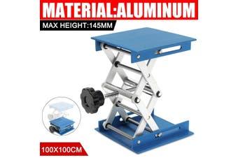 "4×4"" Lift Lifting Jack Aluminum Lab Lifting Platforms Stand Rack Scissor"