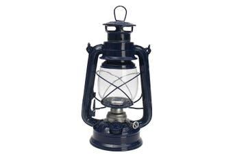 Vintage Style Lantern Kerosene Oil Paraffin Hurricane Lamp Light Adjustable Wick Blue(blue)