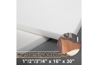 High Density Seat Foam Rubber Cushion Replacement Upholstery Firm Pad Features Both Soft And Firm Texture(75x40x10cm)