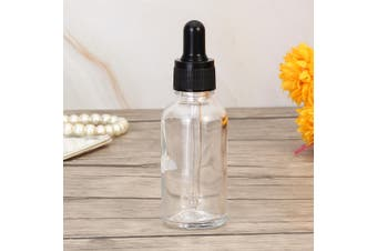 30ml Glass Bottle Eye Dropper Essential Oils Container Perfume