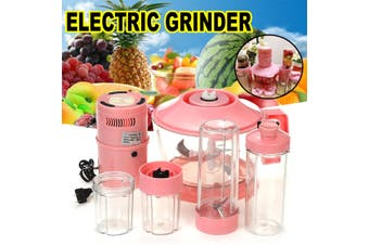 5Cup 220V Electric Meat Grinder Grinding Veg Fruits Blender Kit Processor Mincer