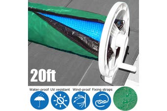 Solar Blanket Winter Cover For Swimming Pool Solar Roller Reel Up To 20' Wide