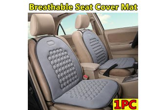 Universal Breathable Seat Cover Mat Comfortable Cushion For Car /Truck /Office(grey)(2020 New Upgrade Style)