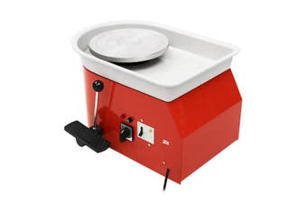 250W Electric Pottery Wheel 25cm Pottery Forming Machine DIY Clay Ceramic Machine Variable Speed