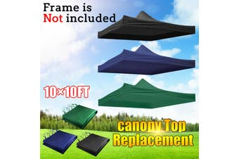 9.5x9.5ft Up Tent Canopy Top Replacement Patio Gazebo Canopy 420D Home Outdoor(darkblue)