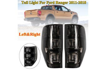 Rear Tail Brake Light Lamp For Ford Ranger PX T6 MK1 MK2 XL XLT XLS 11-18 Smoked