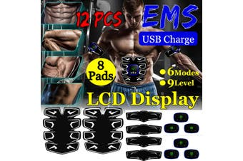 Muscle Training EMS Stimulator Gear ABS Ultimate Hip Trainer Full Body Exercise