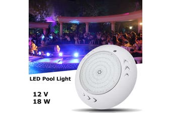 LED Pool Light 18w RGB 16 Modes Resin Filled AQUAQUIP, SPA ELECTRIC Retrofit 12V