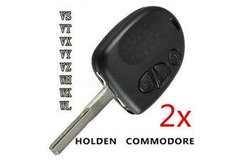 3 Button Car Remote Key Fob Case Shell fit Holden Commodore VS VT VX VY WH(2pcs)