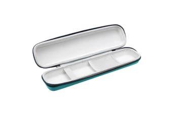 Universal EVA Hard Case Protective Hair Straightener Storage Bag Box For GHD IV Gold(blue)