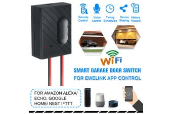 Smart WiFi Switch Car Garage Door Opener Cell Phone App Remote Control For Alexa Google Home IFTTT