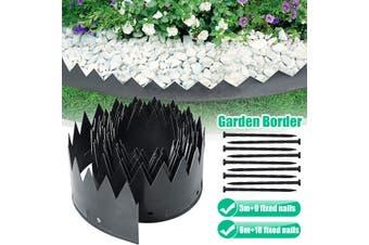 Garden Edging Border Edge Landscape Lawn Flower Bed Landscaping Flexible Plactic(TypeB)