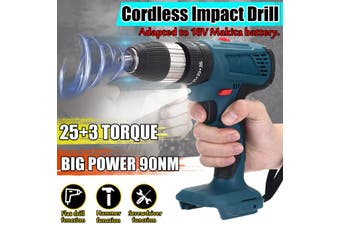 3in1 Electric Brushless Impact Wrench Drill 90NM High Torque Tool Electric Drill