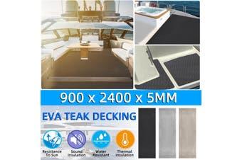 Flooring Teak EVA Foam Boat Marine Yacht Decking Sheet Carpet Pad Self Adhesive(grey)