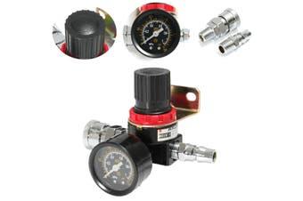 1/4'' AR-2000 Air Compressor Regulator Pressure Gauge Control Valve Gauge Hose R