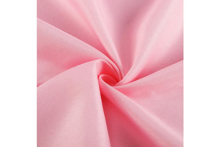 Massage Treatment Bed Cover Washable Polyester Cotton Table Sheet With Face Breath Hole(pink)(1PC)