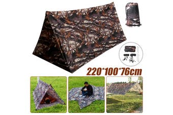 Lightweight Tent Waterproof Rain Fly Camping Tarp Picnic Pad Mat Hammock Shelter Cover With Drawstring Backpacking Sun Shade Beach(camouflage)