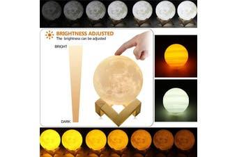 15cm 3D LED Magical Jupiter Night Light Moonlight USB Table Desk Lamp Touch Sensor Gift(15cm jupiter)