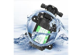 DC 12V/24V 80W Micro Diaphragm Water Pump Self-priming Booster Electric Water Pump Automatic Switch For Home Garden