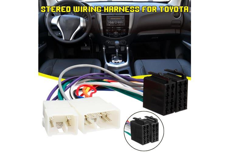 Toyota Head Unit Wiring Harness from assets.kogan.com