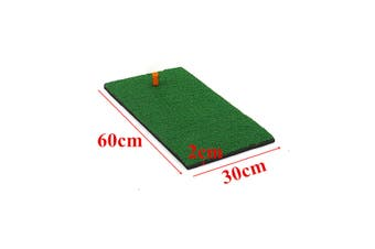 3 Sizes Golf Mat Rubber Tee with 3 Golf Balls Golf Practice Apply for Indoor and Outdoor Golf Training Aids for Beginner(B 30x60x2cm)