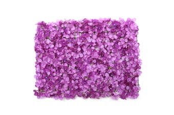 2PC Hydrangea Carpet Type Silk Flowers Wedding Setting Wall Road Arch K