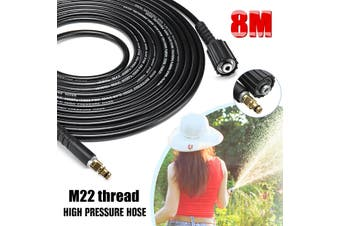 6m/ 8m/10m High Pressure Water Cleaning Hose for Karcher K2 K3 K4 K5 K6 K7 High Pressure Washers(8 m)