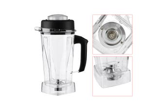 Commercial Blender Spare Parts 2L Container Jar Jug Pitcher Cup for Vitamix 60oz(transparent)