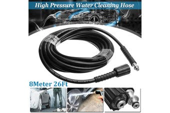 8 Meters High Pressure Washer Water Cleaning Hose Quick M22 for Karcher K2 K3 K4 K5(8 m)