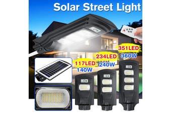 AUGIENB 40W/80W/120W Solar Street Light 20/40/60 LED Solar Lights Outdoor IP67 Waterproof Solar with Motion Sensor Security Light for Yard Garden, Street, Basketball Court, Gutter(120W)
