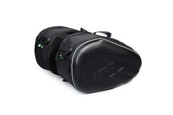 Pair Universal Motorcycle Rear Side Saddle Bags Package Luggage Waterproof 58L(B (Saddle Bags))