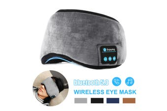 Wireless bluetooth 5.0 Stereo Eye Mask Music Headset Handsfree For Sleeping(black)(Type2 Eye Mask)