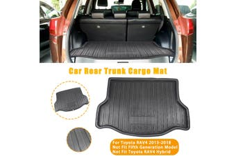 Boot Mat Rear Trunk Liner Cargo Floor Carpet Mud Protector For Toyota RAV4 13-18