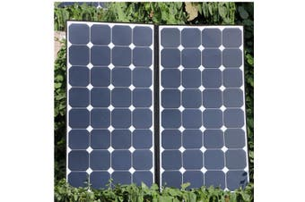 200W 18V Flexible Solar Panel With Sunpower chip Car Charger Green Energy For RV,Boat,Cabin,Home,House,Camping