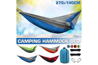 Camping Hommock Hammock Outdoor Camping Ultra Light Portable Hanging Hammock Bed Camping Supplies(orange)(without Mosquito Net)