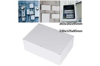 Waterproof Clear Electronic Project Box Enclosure Plastic Case Junction Box(230 x 150 x 85mm)