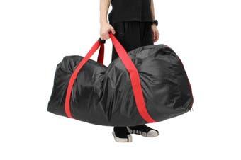 For Xiaomi Mijia M365 Carry Bag Electric Scooter Backpack Storage Bundle Bag 1Ps(black)(Black Carry Bag)