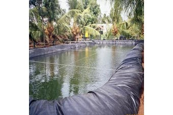 0.3mm Thickness Composite Geomembrane Landscaping Fish Pool Pond Liner(5x5m)