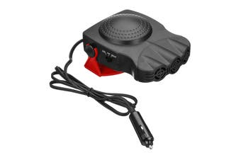 150W 2in1 Car Van Heater Cooling Fan Windscreen Window Demister Defroster 12V