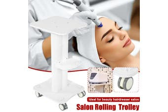 Rolling Salon Trolley Wheel Cart Stand For Ultrasonic Cavitation RF IPL Machine