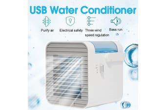 Portabl Air Conditioner Fan Mini Cool Bedroom Desk USB Silent Water Cooler