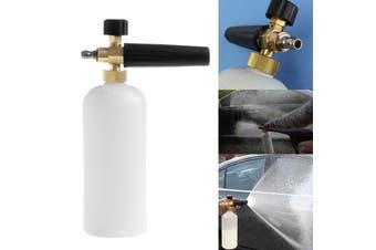 1L Foam Cannon Bottle Lance For Pressure Washer Jet Car Wash Soap Spray(Snow Foam Lance)