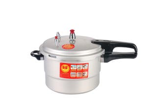 Aluminum Gas Pressure Cooker Canner Cooking Pot For Kitchen Stove 3/9/17L(3 l)