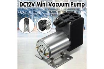 DC12V Mini Vacuum Pump Negative Pressure Suction Pump 5L/min 120kpa W/Holder