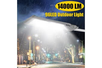100% original AUGIENB 200W 14000 Lumen 96 LED - 6500K LED Street Lights Shoebox Pole Lights Waterproof Super Bright Dusk To Dawn Outdoor Street Daylight white(grey)(Light without Pole)