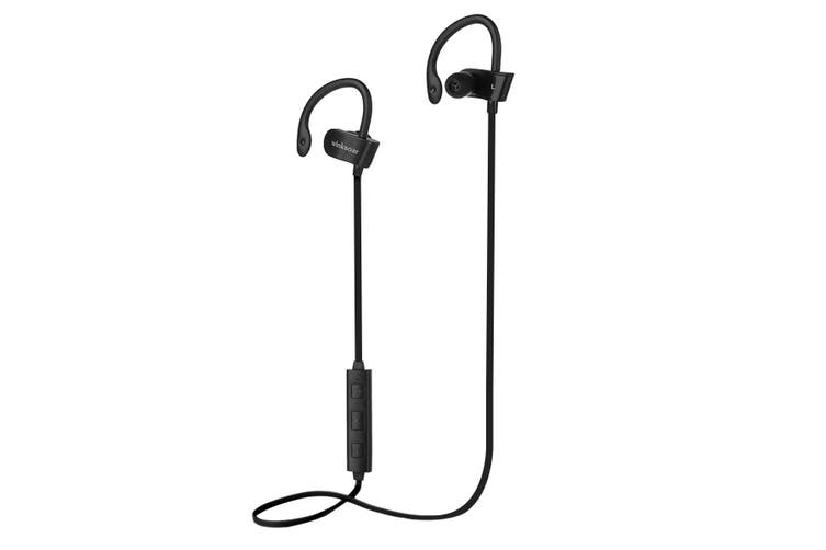 bluetooth 4.1 Wireless Headphone Sports Neckband Wifi Earphone Stereo Headset Waterproof For IPhone for Samsung for LG(black)